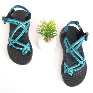 Chaco Womens ZX/2 Yampa Hiking Sport Sandals Blue